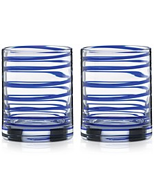 Charlotte Street Double Old-Fashioned Glasses, Set of 2