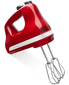 KitchenAid KHM614ER 6-Speed Hand Mixer