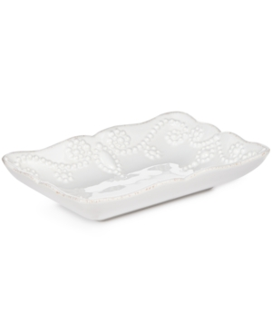 Lenox Bath French Perle Soap Dish Bedding