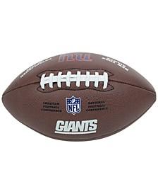 New York Giants Composite Football