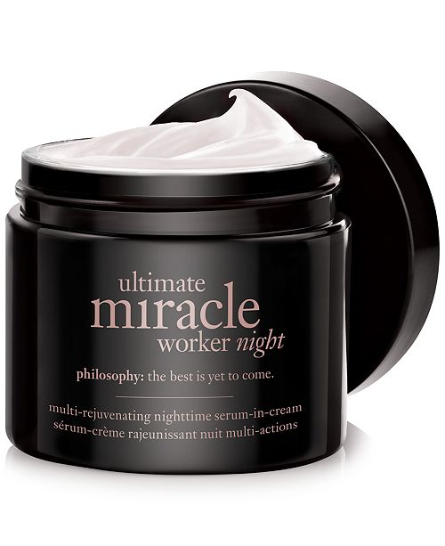 philosophy ultimate miracle worker night, 2 oz.