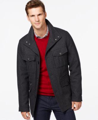 MICHAEL Michael Kors Wool-Blend Field Coat