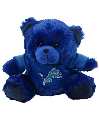 Forever Collectibles Detroit Lions Plush Bear Sports Fan Shop By
