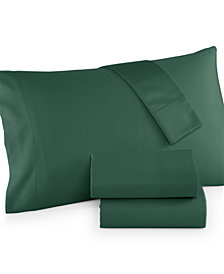 CLOSEOUT! Charter Club California King 4-pc Sheet Set, 300 Thread Count Egyptian Cotton Blend, Created for Macy's