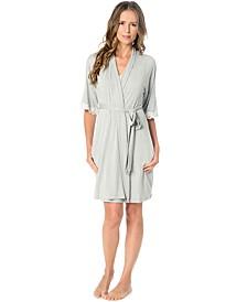 Nursing Nightgown And Robe Set