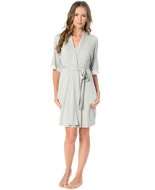 27bbe3100e A Pea in the Pod Nursing Nightgown And Robe Set   Reviews ...