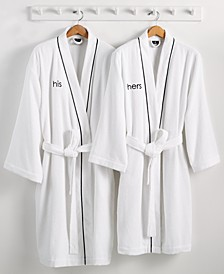His or Hers Robe, 100% Turkish Cotton, Created for Macy's