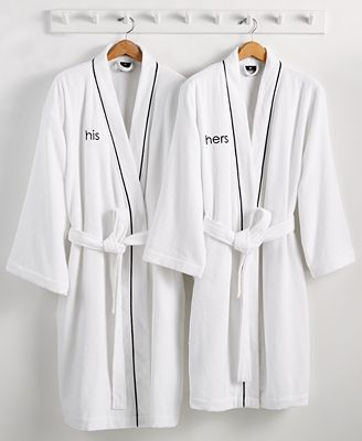 His & Hers Robe