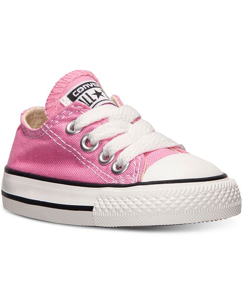 7d920b4994ab27 ... Converse Toddler Girls  Chuck Taylor Original Sneakers from Finish ...
