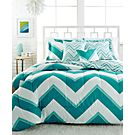 Chevron 4-Pc. Twin Comforter Set