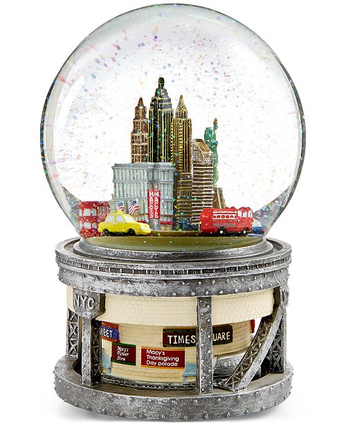 Macys Furniture Outlet Columbus: Macy's New York Musical Water Globe, Created For Macy's