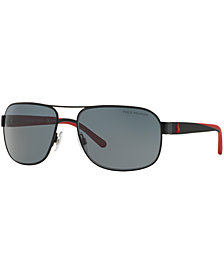 Polo Ralph Lauren Polarized Sunglasses, PH3093