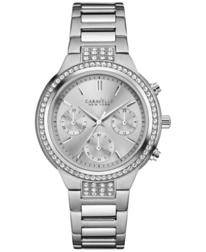 Caravelle New York by Bulova Women's Stainless Steel Bracelet Watch 36mm 43L186