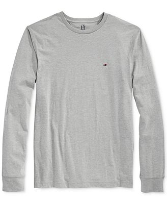 Tommy Hilfiger Eric Long-Sleeve T-Shirt - T-Shirts - Men - Macy's