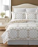 Martha Stewart Collection 100 Cotton Paris Fleur Full/Queen Quilt Created for Macys Bedding