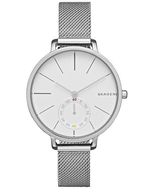 Skagen Women's Hagen Stainless Steel Mesh Bracelet Watch 34mm SKW2354