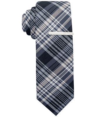 alfani hamilton plaid tie only at macy s