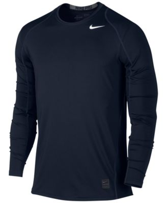 Nike Men\u0026#39;s Pro Cool Dri-FIT Fitted Long-Sleeve Shirt
