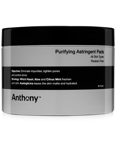 Anthony Men's Purifying Astringent Pads, 60 pads