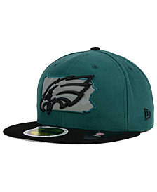 New Era Philadelphia Eagles State Flective Redux 59FIFTY Cap