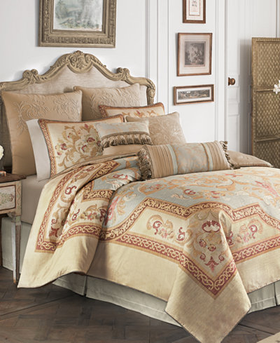 Closeout Croscill Lorraine 4 Pc Bedding Collection