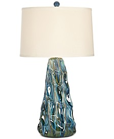 Salt Water Taffy Ceramic Table Lamp