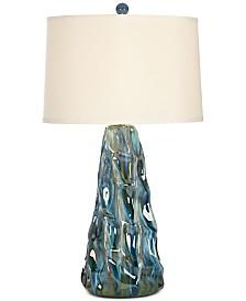Pacific Coast Salt Water Taffy Ceramic Table Lamp