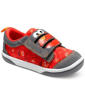 Stride Rite Little Boys Sesame Street Elmo Sneakers