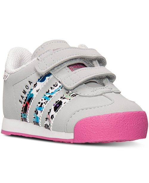 de2efc12bf31 ... adidas Toddler Girls  Samoa Casual Sneakers from Finish Line ...
