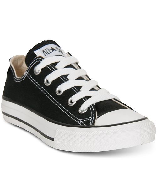 Converse Little Boys' & Girls' Chuck Taylor Ox Casual Sneakers from Finish Line