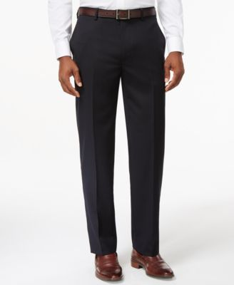 Tommy Hilfiger Mens Solid Suit Separate Pant Tommy Hilfiger Tailored AS138-TYLER