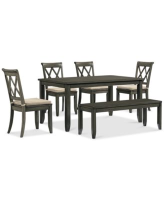 Chair Dining Room Sets - Russet  Piece Dining Set Dining Table