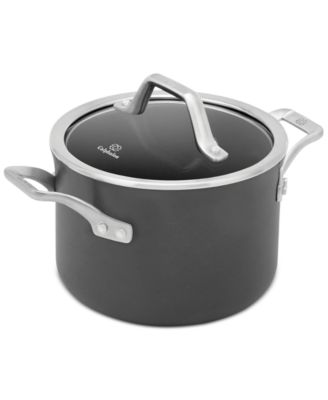 calphalon signature nonstick 4 qt soup pot with cover