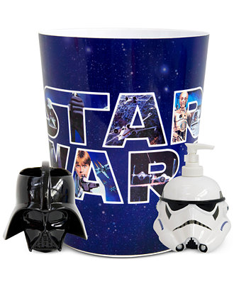 larger view. CLOSEOUT  Jay Franco Star Wars Accessories Collection   Bathroom