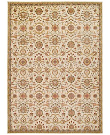 "Home Ancient Times Persian Treasures Ivory 7'9"" x 10'10"" Area Rug"