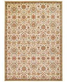 "kathy ireland Home Ancient Times Persian Treasures Ivory 3'9"" x 5'9"" Area Rug"
