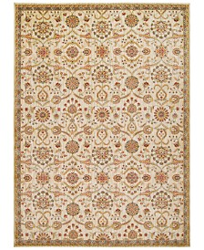 "kathy ireland Home Ancient Times Persian Treasures Ivory 5'3"" x 7'5"" Area Rug"