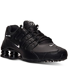 Nike Men's Shox NZ EU Running Sneakers from Finish Line