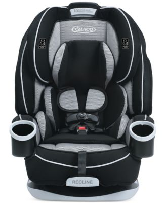 Graco Baby 4Ever All-in-One Car Seat  sc 1 st  Macyu0027s : reclining baby car seat - islam-shia.org