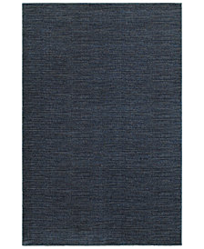 "Oriental Weavers Richmond Casual Navy/Grey 7'10"" x 10'10"" Area Rug"