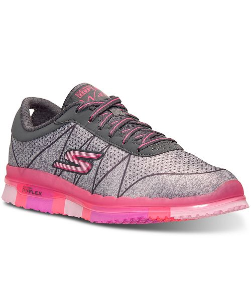 Ships Free Skechers Go Flex Ability 14011 Trainers in Grey