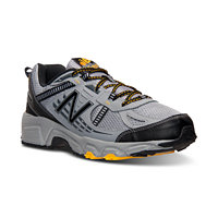 New Balance MT 410 Mens Running Sneakers (Grey/Black/Gold)
