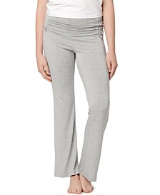 A Pea in the Pod Maternity Ruched Pajama Pants