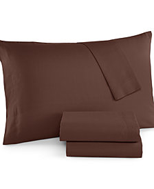CLOSEOUT! Twin 3-Pc. Sheet Set, 220 Thread Count, Created for Macy's