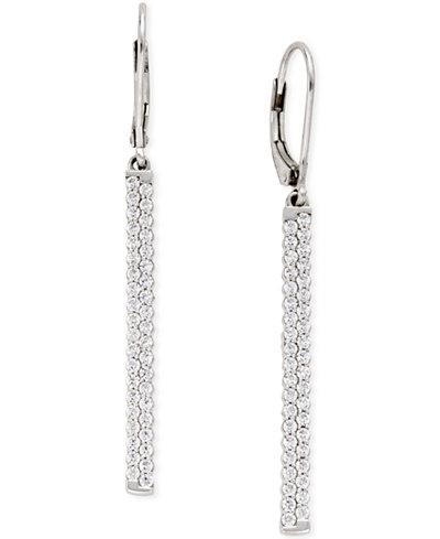 Diamond (1 ct. t.w.) Drop Earrings in 14k White Gold