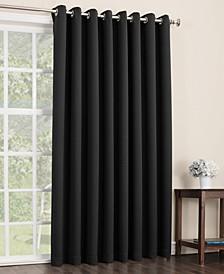 """Preston 100"""" x 84"""" Blackout Grommet Patio Curtain Panel"""