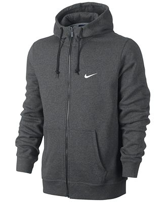 Nike Men's Classic Fleece Full-Zip Hoodie - Hoodies & Sweatshirts ...