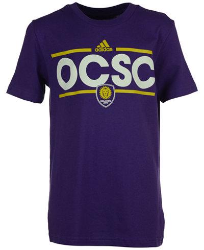adidas Orlando City SC Dassler T-Shirt, Big Boys (8-20)