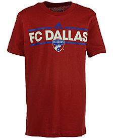 adidas Kids' FC Dallas Dassler T-Shirt, Big Boys (8-20)