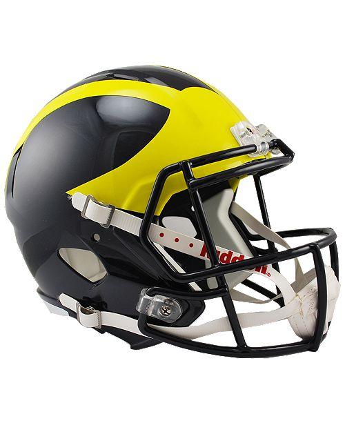 Macys Furniture Outlet Michigan: Riddell Michigan Wolverines Speed Replica Helmet & Reviews